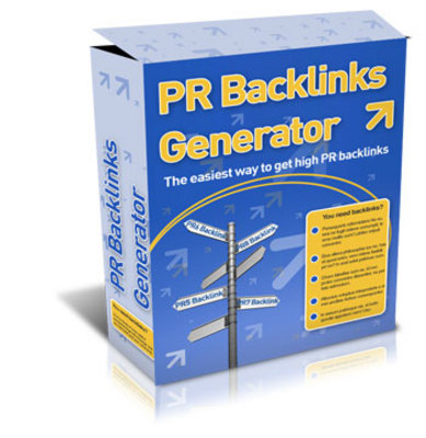 Product picture PR Backlinks Generator