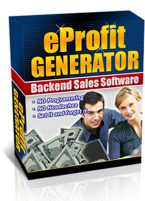 Product picture Eprofit Generator